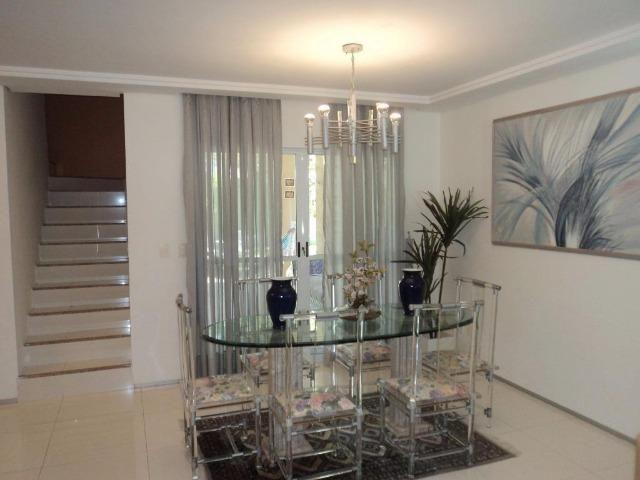 CA0597 - Casa duplex em condomínio com 3 suítes, 3 vagas e lazer no Eusébio - Foto 8