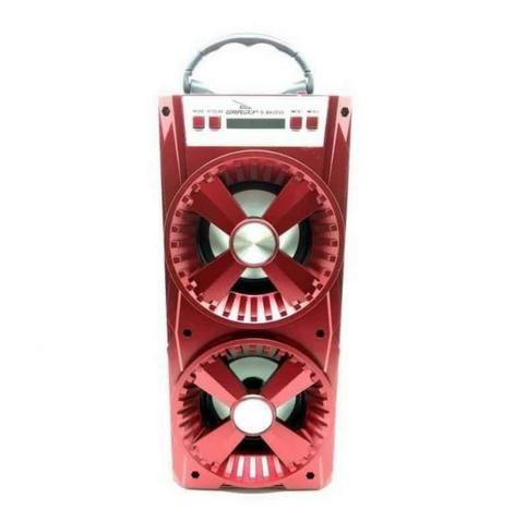 Caixa de som Bluetooth Grasep Entrada Usb SD e Rádio FM - Foto 3