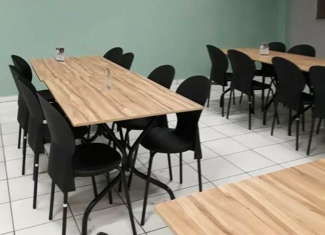 Cadeiras e Mesas para lanchonetes, bares, buffets e restaurantes - Direto da Fábrica