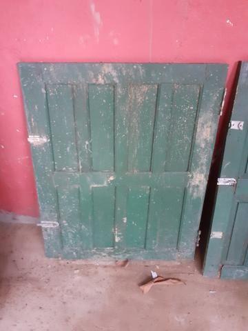 1 porta e 2 janelas usadas em bom estado + 1 de brind - Foto 3