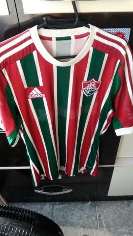 Camisa do Fluminense 2014 tricolor P - Esportes e ginástica ... 8f379add47c4e