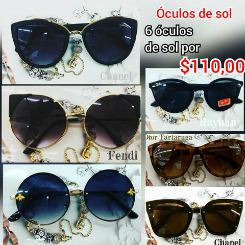 627a2e1a1 Atacado 6 óculos de sol - Bijouterias, relógios e acessórios ...