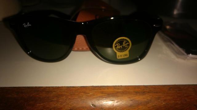 4ce1cc31f Promoção),Óculos Ray Ban sunglasses ,com lente de safira e na cor ...