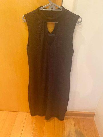 Vestido coquetel novo preto M