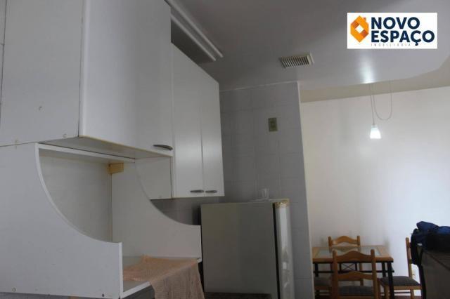 Apartamento com 1 dormitório para alugar, 40 m² por R$ 600/mês - Centro - Campos dos Goyta - Foto 8