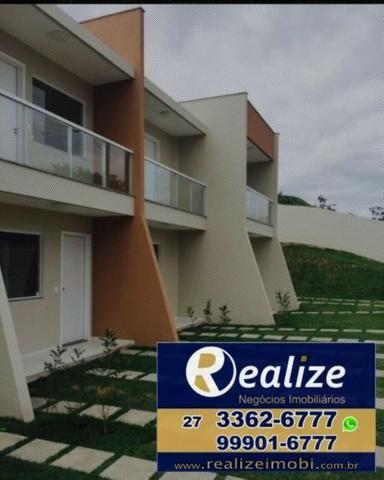 Casa duplex de 02 quartos || aceita financiamento bancário