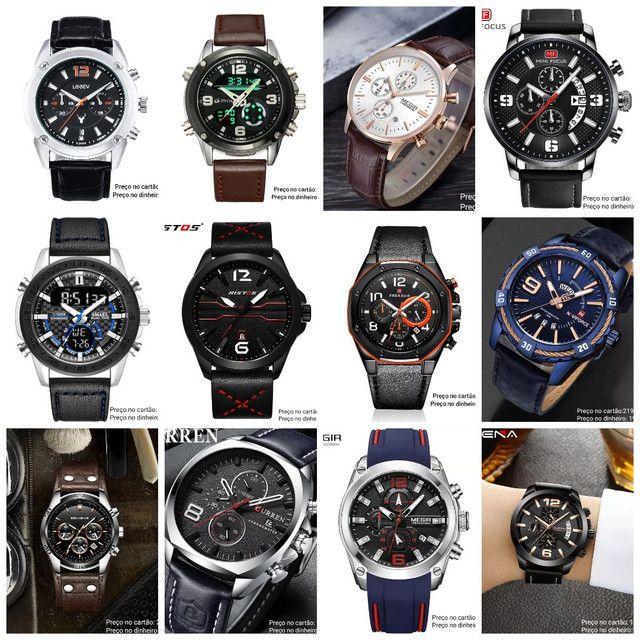 Relógios masculinos Importados originais exclusivos - Foto 3