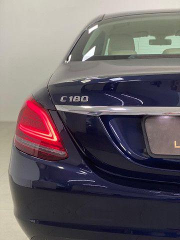 Mercedes c-180 2020 c/500km. igual a zerokm. léo careta veículos - Foto 18