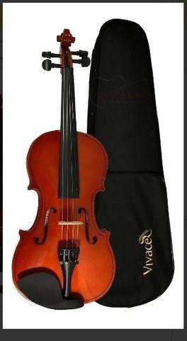 Violino Acústico Vivace Mozart Mo44 Com Case 4/4 - Foto 3