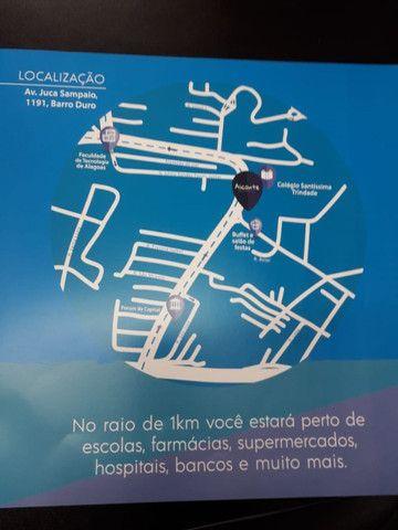 Lançamento no Barro Duro, 02 quartos, 51m2, Alicante Residencial - Foto 12