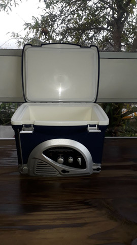 Radio/cooler para pesca - Foto 2