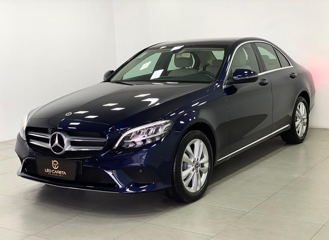 Mercedes c-180 2020 c/500km. igual a zerokm. léo careta veículos