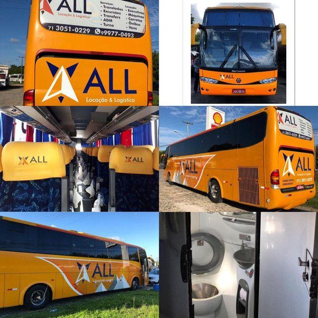 Aluguel de Ônibus e Vans..
