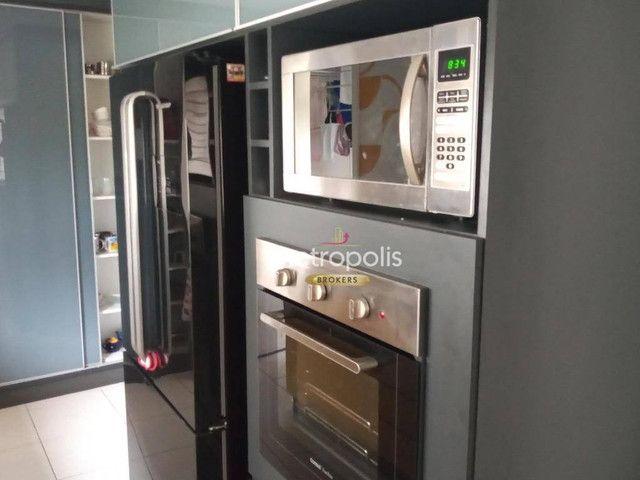 Apartamento com 4 dormitórios à venda, 179 m² por R$ 2.100.000,00 - Cerâmica - São Caetano - Foto 5
