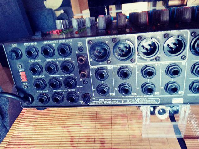 Mesa Ciclotron 16 canais CMR 16X com CASE - Foto 4