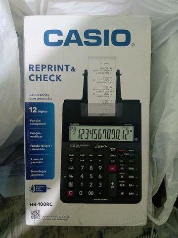 Calculadora c/impressão Casio HR -100