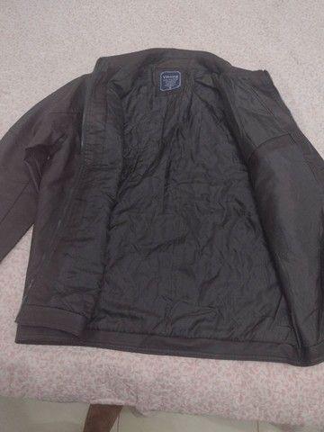 Uma jaqueta de couro legítimo  - Foto 5