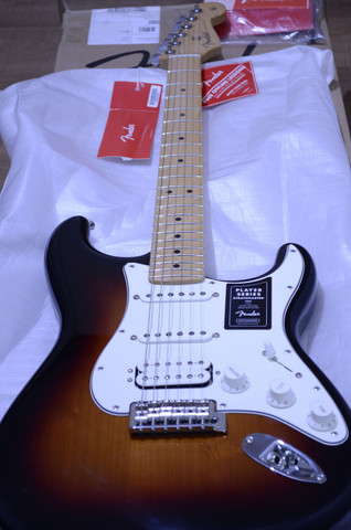 Fender player Stratocaster HSS Mex
