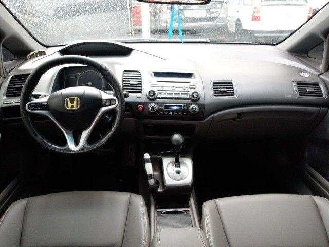 Honda Civic lxl 1.8 cinza 16v flex 4p aut. - Foto 9