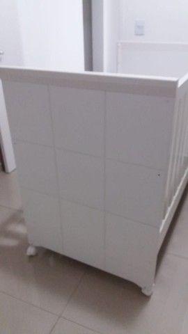 Berço cama + colchão  (semi novo)  - Foto 4