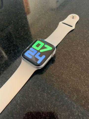 Apple Watch Series 4 Prata 44MM  - IMPECÁVEL