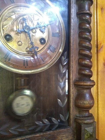 Raríssimo !!! Relógio antigo funcionando !!! - Foto 4