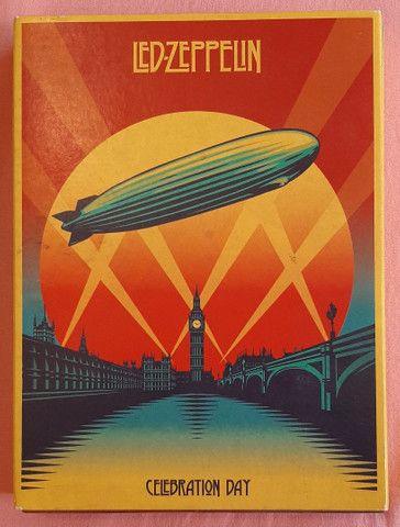 Box Led Zeppelin Celebration Day (2 CDs + 1 dvd)