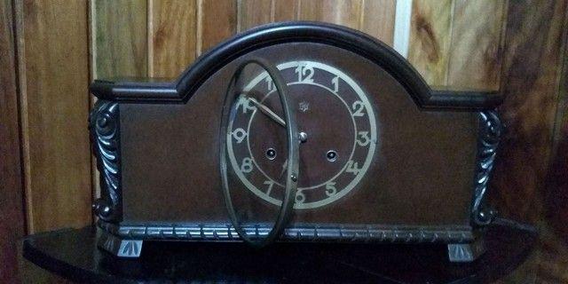 Relógio 1/2 carrilhão antigo funcionando !!! - Foto 3