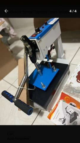 Máquina de estampar camisetas da compacta print - Foto 4