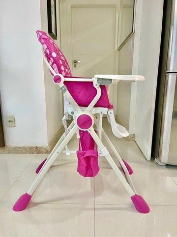 Cadeira alimentação Pocket Lunch pink  Chicco - Foto 5