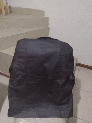 Uma jaqueta de couro legítimo  - Foto 3