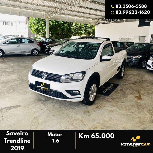 Saveiro Trendline 1.6 2019 - Foto 4