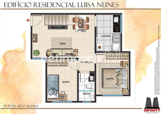 Apartamento à venda com 2 dormitórios em Santa mônica, Belo horizonte cod:798018 - Foto 10