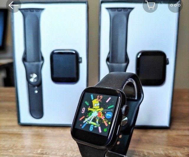 Relógio inteligente x7 atualizado faz e recebe ligações  - Foto 4