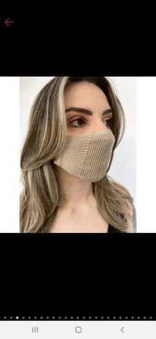 Mascara de tricô - TOP das blogueiras - Foto 4