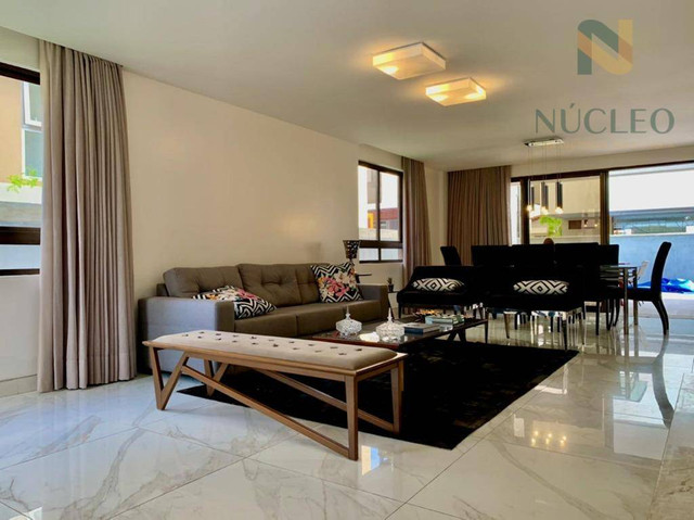 Casa de condomínio com 5 suítes à venda, 340 m² por R$ 1.700.000 - Intermares - Cabedelo/P