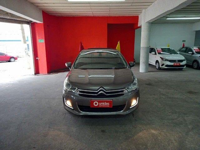 Citroen C4 Lounge Exclusive 1.6 turbo Thp Flex Aut 4p 2018 (Uber Black)  - Foto 3
