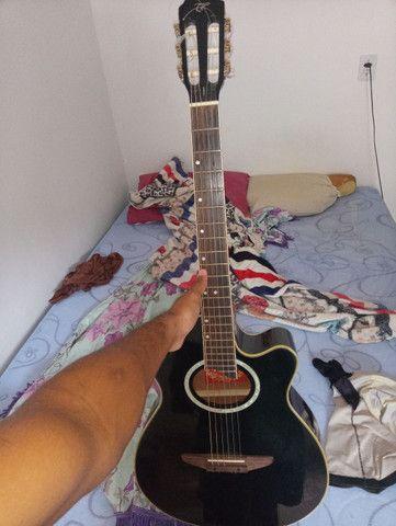 Violão Tagima de nalho perfeito som em otimo estado!! - Foto 2