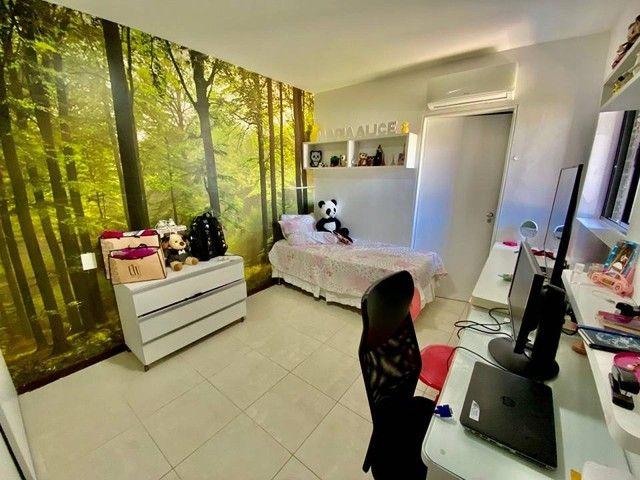 Apartamento para venda possui 200 metros quadrados com 3 suites mais dce.Ponta Verde - Mac - Foto 13