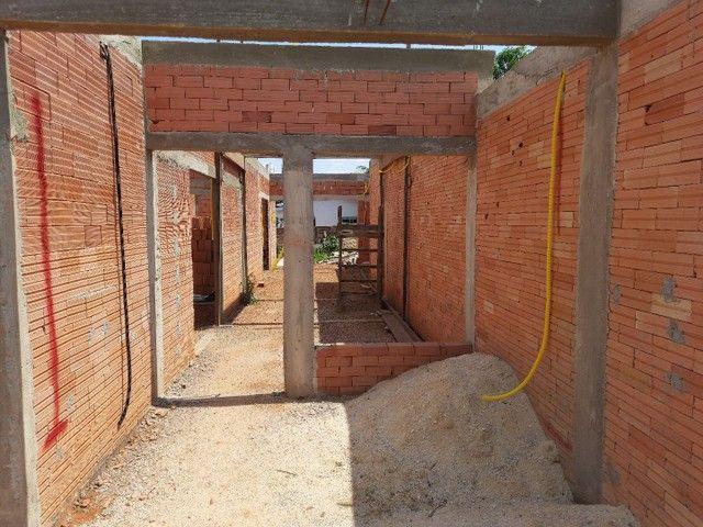 Casa em alvenaria está em fase de construção.  - Foto 5