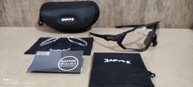 Oculos Fotocromático Kapvoe e Elax