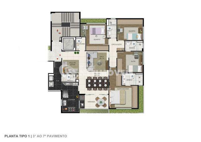 Apartamento à venda com 4 dormitórios em Ouro preto, Belo horizonte cod:641691 - Foto 13
