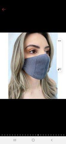 Mascara de tricô - TOP das blogueiras - Foto 6
