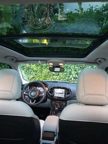 Jeep Compass Limited Diesel com Teto Solar, Park Assist (estaciona sozinho), 18/18 - Foto 7