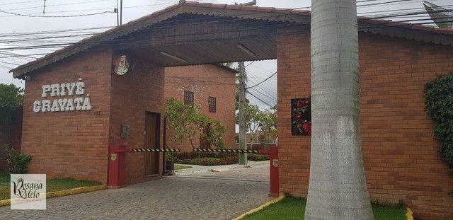 Casa Cond. Privê Gravatá / 123 m2 / 5 quartos / 4 suítes / Mobiliada / Top