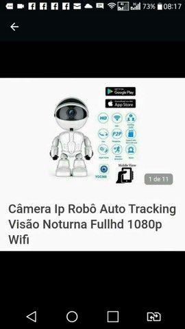 Cãmera Ip robô nova na caixa