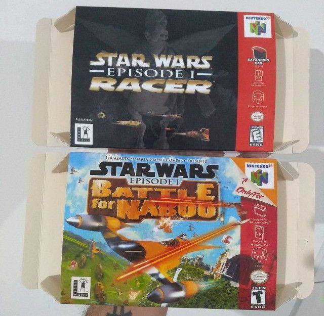 Caixas para Cartuchos de Nintendo 64 - Foto 6