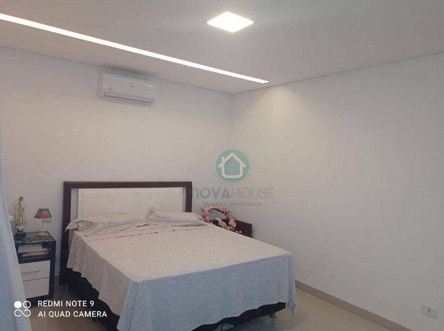 Casa com 3 dormitórios à venda, 220 m² por R$ 850.000,00 - Agua Limpa Park - Campo Grande/ - Foto 13