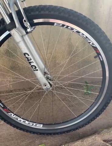 Bicicleta Recém reformada Caloi sport - Foto 4