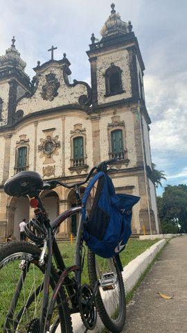 Bicicleta Recém reformada Caloi sport - Foto 5